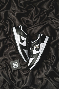 "H12纯原 Dunk Low Retro ""Black"" 黑白 熊猫"